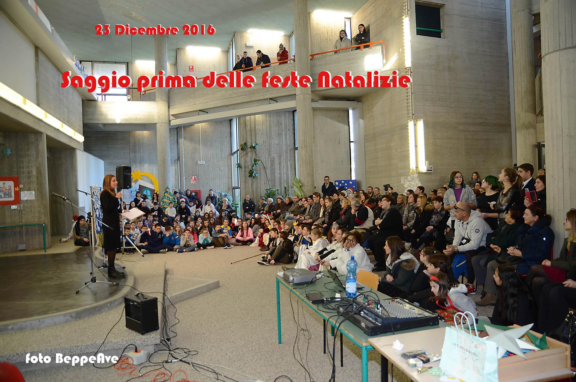 Scuola Media Torre di Mosto Natale 2016